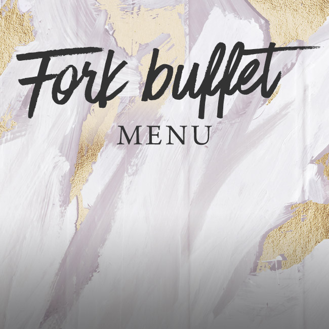 Fork buffet menu at The Hole in the Wall