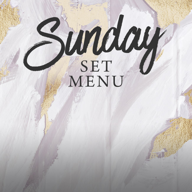 Sunday set menu at The Hole in the Wall